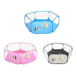Small Pet Playpen Cage for Hamster Rabbit Gerbil Reptiles In