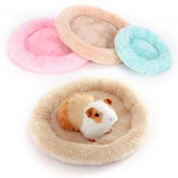 Soft fleece guinea pig bed winter small animal cage mat hams