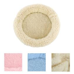 soft plush pet bed small animal cage