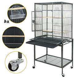 """SUPER DEAL 53"""" Large Bird Cage Play Top Parrot Chinchilla Ca"""