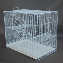 New Extra Large Tall Wrought Iron 3 Levels Ferret Chinchilla