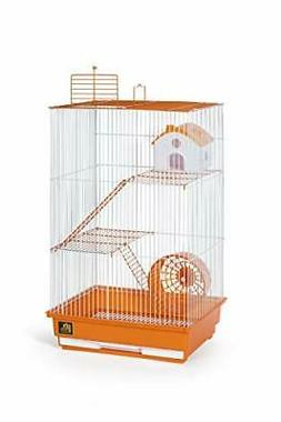 Prevue Pet Products Three-Story Hamster & Gerbil Cage Orange