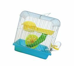 YML Small Traval Mice, Dwarf hamster Cage, Blue