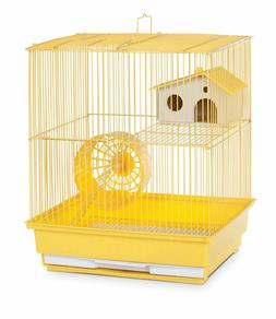 "Two Story Hamster & Gerbil Cage - Choose Your Color - 14"" L"