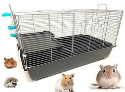 Universal Small Animal Habitat Cage For Large Hamster Guinea