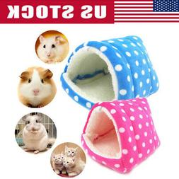 US Pet Nest Hamster Bed Warm Hammock Rat Hedgehog Squirrel H