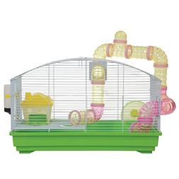 Animal Treasures YDE102/GREEN Green Deluxe Hamster Kit